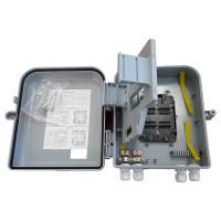 FTTH кутия за 16 оптични заварки