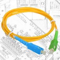 Оптична пач корда SC/PC-SC/APC 3м.
