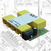 PoE инжектор 4х100Mbit